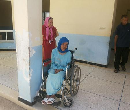 Gehandicapte ouderen Al hoceima