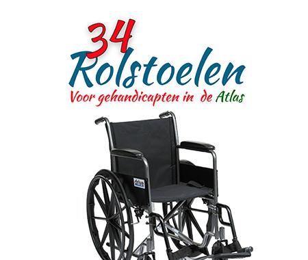 Doneer een rolstoel voor Atlas gehandicapten
